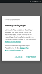 Samsung Galaxy A5 (2017) - Android Nougat - Apps - Einrichten des App Stores - Schritt 19