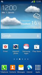 Samsung G386F Galaxy Core LTE - MMS - configuration automatique - Étape 3