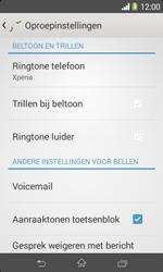 Sony D2005 Xperia E1 - Voicemail - handmatig instellen - Stap 5