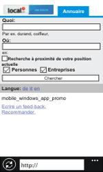 Nokia Lumia 800 / Lumia 900 - Internet et roaming de données - Navigation sur Internet - Étape 15