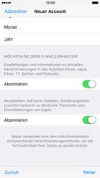 Apple iPhone 6s iOS 10 - Apps - Konto anlegen und einrichten - Schritt 17