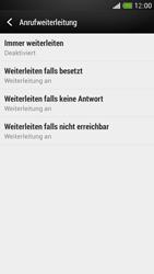 HTC One Mini - Anrufe - Rufumleitungen setzen und löschen - Schritt 6