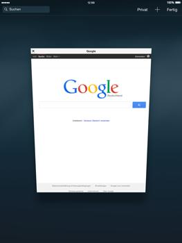 Apple iPad mini - iOS 8 - Internet und Datenroaming - Verwenden des Internets - Schritt 12