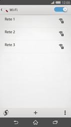 Sony Xperia Z2 - WiFi - Configurazione WiFi - Fase 6