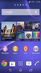 Sony Xperia E3 - Internet - configuration manuelle - Étape 1