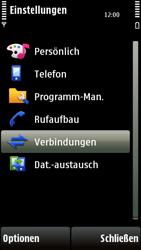 Nokia 5230 - Internet - Manuelle Konfiguration - Schritt 5