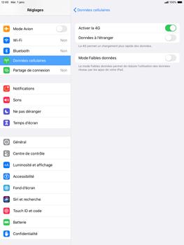 Apple iPad Air (2019) - iPadOS 13 - Internet et roaming de données - Désactivation du roaming de données - Étape 6