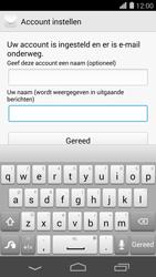 Huawei Ascend P7 - E-mail - handmatig instellen - Stap 21