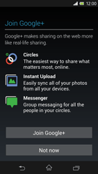 Sony Xperia Z - Applications - Setting up the application store - Step 11