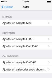 Apple iPhone 4 S iOS 7 - E-mail - Configuration manuelle - Étape 7