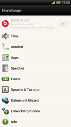HTC One X Plus - Software - Installieren von Software-Updates - Schritt 5