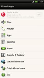 HTC One X - Software - Installieren von Software-Updates - Schritt 5