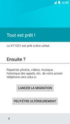 Motorola Moto E (1st Gen) (Lollipop) - Premiers pas - Créer un compte - Étape 27