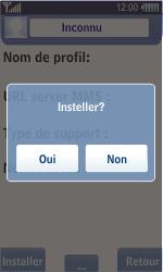 Samsung S8500 Wave - MMS - Configuration automatique - Étape 6