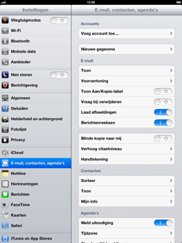 Apple iPad 4th generation - E-mail - handmatig instellen - Stap 5