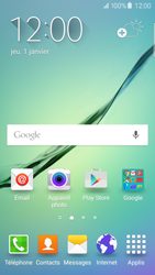 Samsung Galaxy S6 Edge - Applications - Installation d