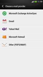 HTC One Mini - E-mail - manual configuration - Step 5