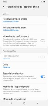 Samsung Galaxy A70 - Photos, vidéos, musique - Créer une vidéo - Étape 8