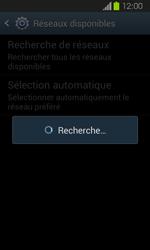 Samsung Galaxy Express - Réseau - Sélection manuelle du réseau - Étape 7
