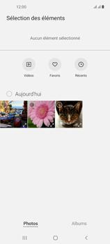 Samsung Galaxy A21s - Contact, Appels, SMS/MMS - Envoyer un MMS - Étape 17