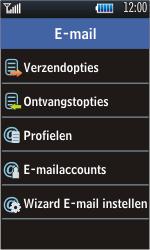 Samsung S5620 Monte - E-mail - Handmatig instellen - Stap 7