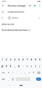 Google Pixel 3a - E-mails - Envoyer un e-mail - Étape 9