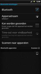 Sony LT22i Xperia P - Bluetooth - koppelen met ander apparaat - Stap 10
