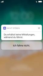 """Apple iPhone SE - iOS 11 - Nicht stören – Sicheres Fahren – """"Do Not Disturb while Driving"""" deaktivieren (für Fahrer) - 4 / 6"""