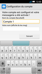 Alcatel Pop C7 - E-mail - configuration manuelle - Étape 21