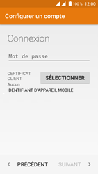 Crosscall Trekker M1 Core - E-mail - Configuration manuelle (outlook) - Étape 7