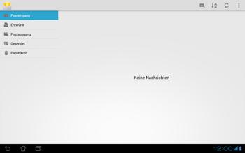 Asus Padfone - E-Mail - Konto einrichten - Schritt 8