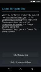 HTC Desire 620 - Apps - Konto anlegen und einrichten - 15 / 23