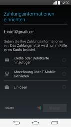 LG D722 G3 S - Apps - Konto anlegen und einrichten - Schritt 20
