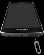 Samsung G925F Galaxy S6 Edge - SIM-Karte - Einlegen - Schritt 2
