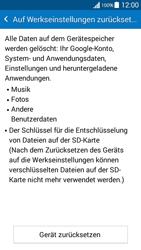 Samsung G530FZ Galaxy Grand Prime - Fehlerbehebung - Handy zurücksetzen - Schritt 8