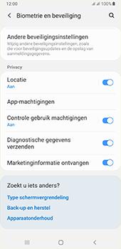Samsung galaxy-a7-dual-sim-sm-a750fn-android-pie - Beveiliging en ouderlijk toezicht - Hoe wijzig ik mijn SIM PIN-code - Stap 5