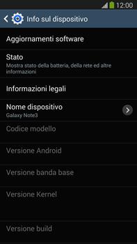 Samsung Galaxy Note III LTE - Software - Installazione degli aggiornamenti software - Fase 7
