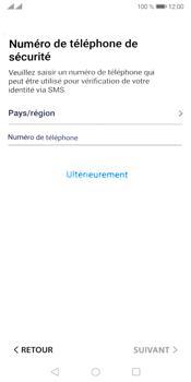 Huawei Y5P - Applications - Créer un compte - Étape 17
