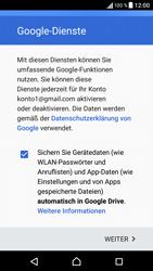 Sony F3111 Xperia XA - E-Mail - Konto einrichten (gmail) - Schritt 15