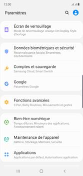 Samsung Galaxy Note 10 - Sécuriser votre mobile - Personnaliser le code PIN de votre carte SIM - Étape 4