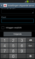 Samsung I8260 Galaxy Core - E-mail - Handmatig instellen - Stap 15