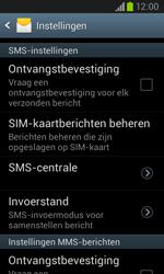 Samsung I8260 Galaxy Core - SMS - Handmatig instellen - Stap 6