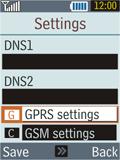 Samsung B2100 Xplorer - MMS - Manual configuration - Step 12