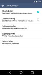 LG G4c - Netzwerk - Netzwerkeinstellungen ändern - 1 / 1