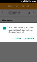 Alcatel U3 - E-mails - Envoyer un e-mail - Étape 11