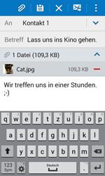 Samsung Galaxy J1 - E-Mail - E-Mail versenden - 18 / 20