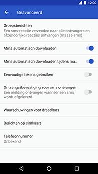 Android One GM5Plus DS - MMS - probleem met ontvangen - Stap 7