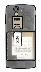 Sony Ericsson Xperia Ray mit OS 4 ICS - SIM-Karte - Einlegen - Schritt 3