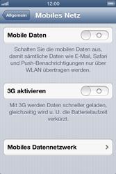 Apple iPhone 3GS - Internet und Datenroaming - Manuelle Konfiguration - Schritt 5