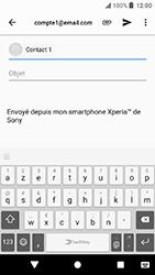 Sony Xperia X Compact - Android Oreo - E-mail - envoyer un e-mail - Étape 7